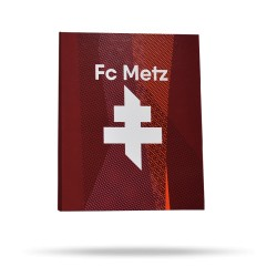 Classeur A4 Fc Metz - Vue de face