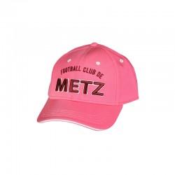 Casquette 3D FC Metz Rose